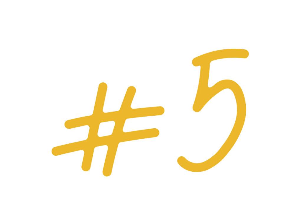5 choses à savoir sur moi #5